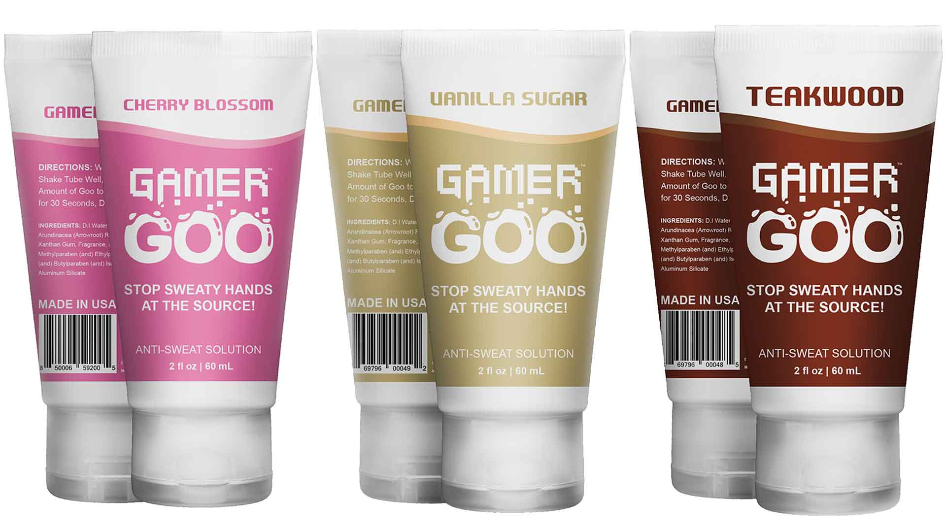 Gamer Goo Lotion and Scents