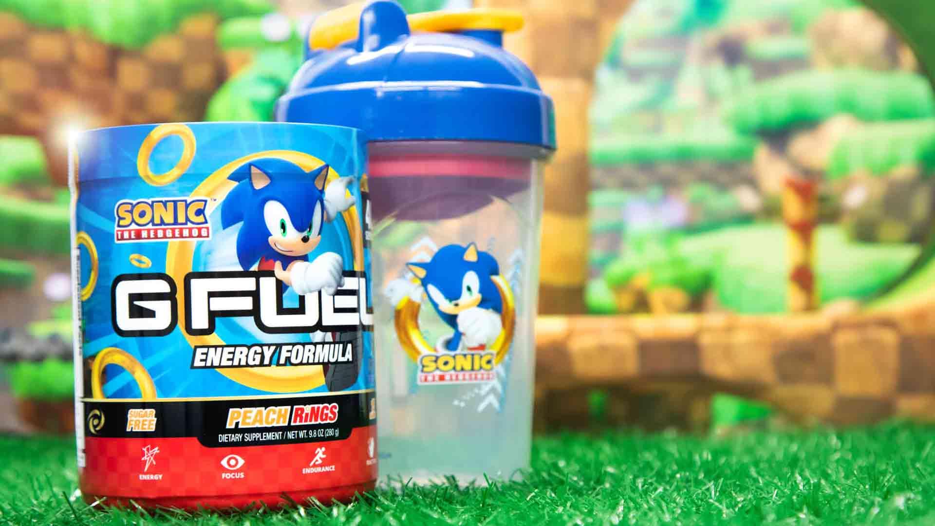 G Fuel Sonic Peach Rings