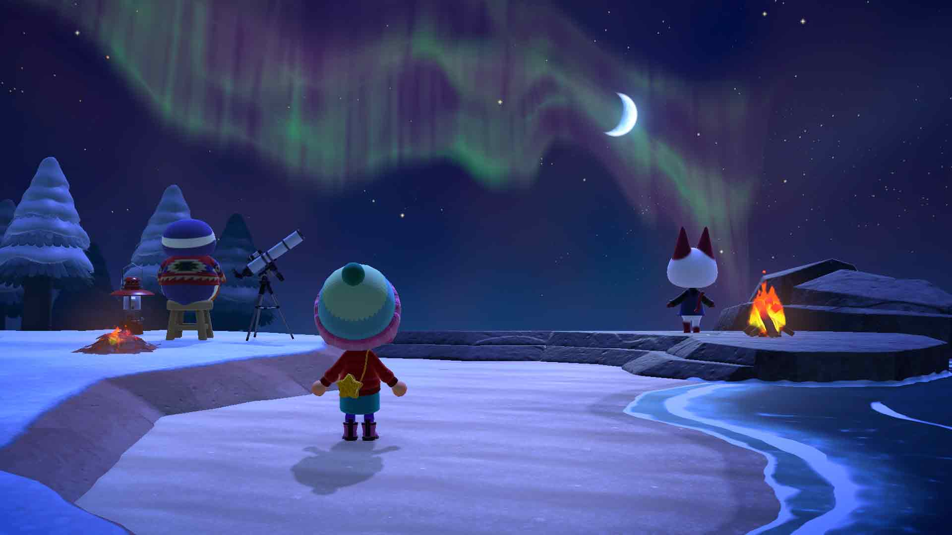 Animal Crossing New Horizons features