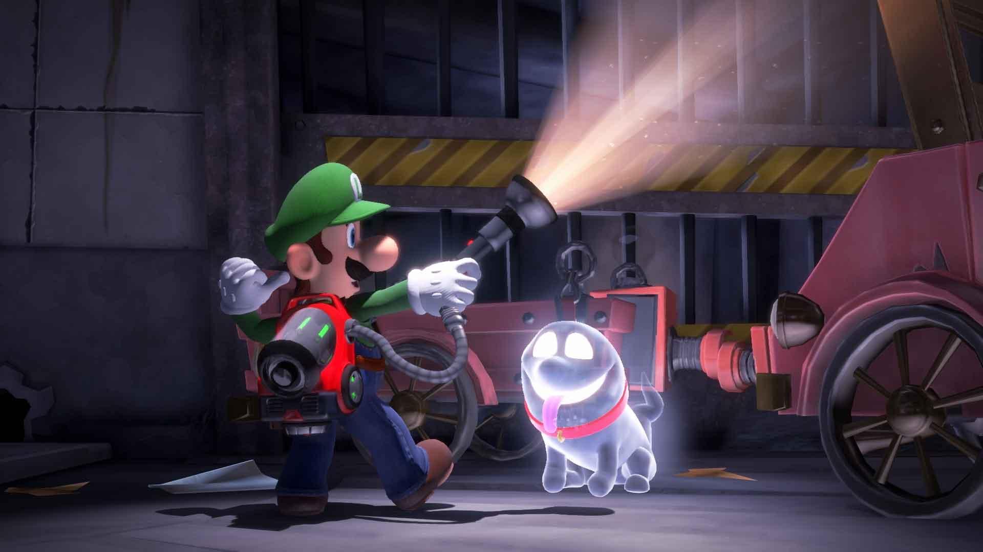 Luigi's Mansion 3 File Size