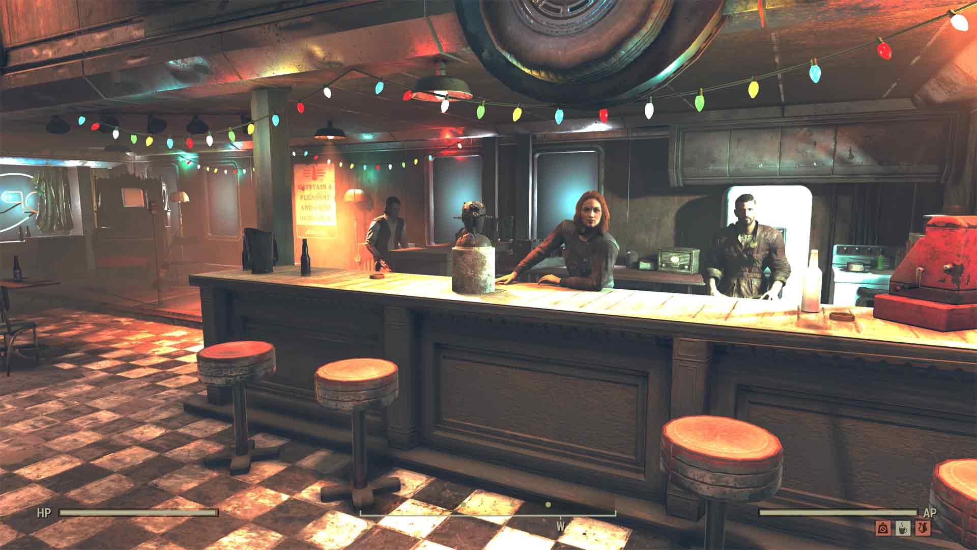 Fallout 76 Wastelanders bar