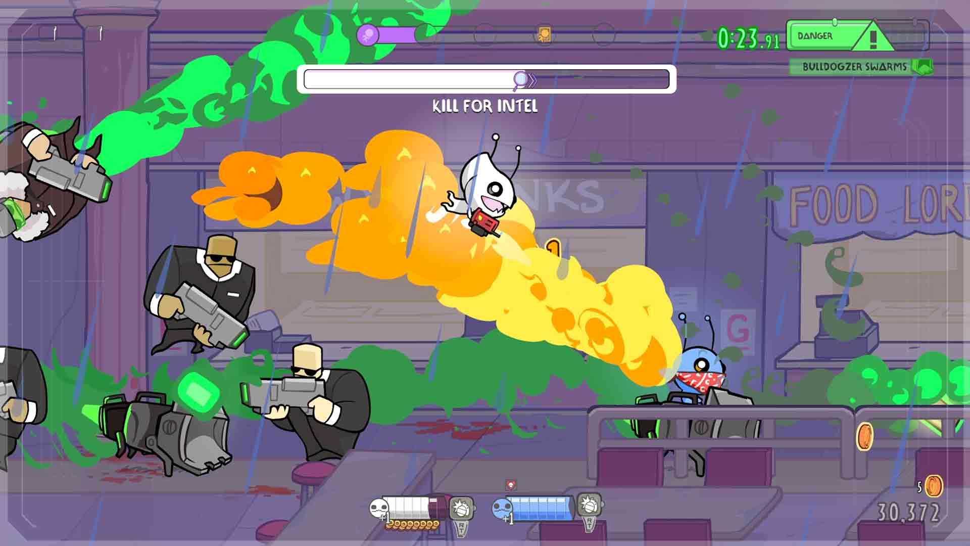 Alien Hominid Invasion Screenshot