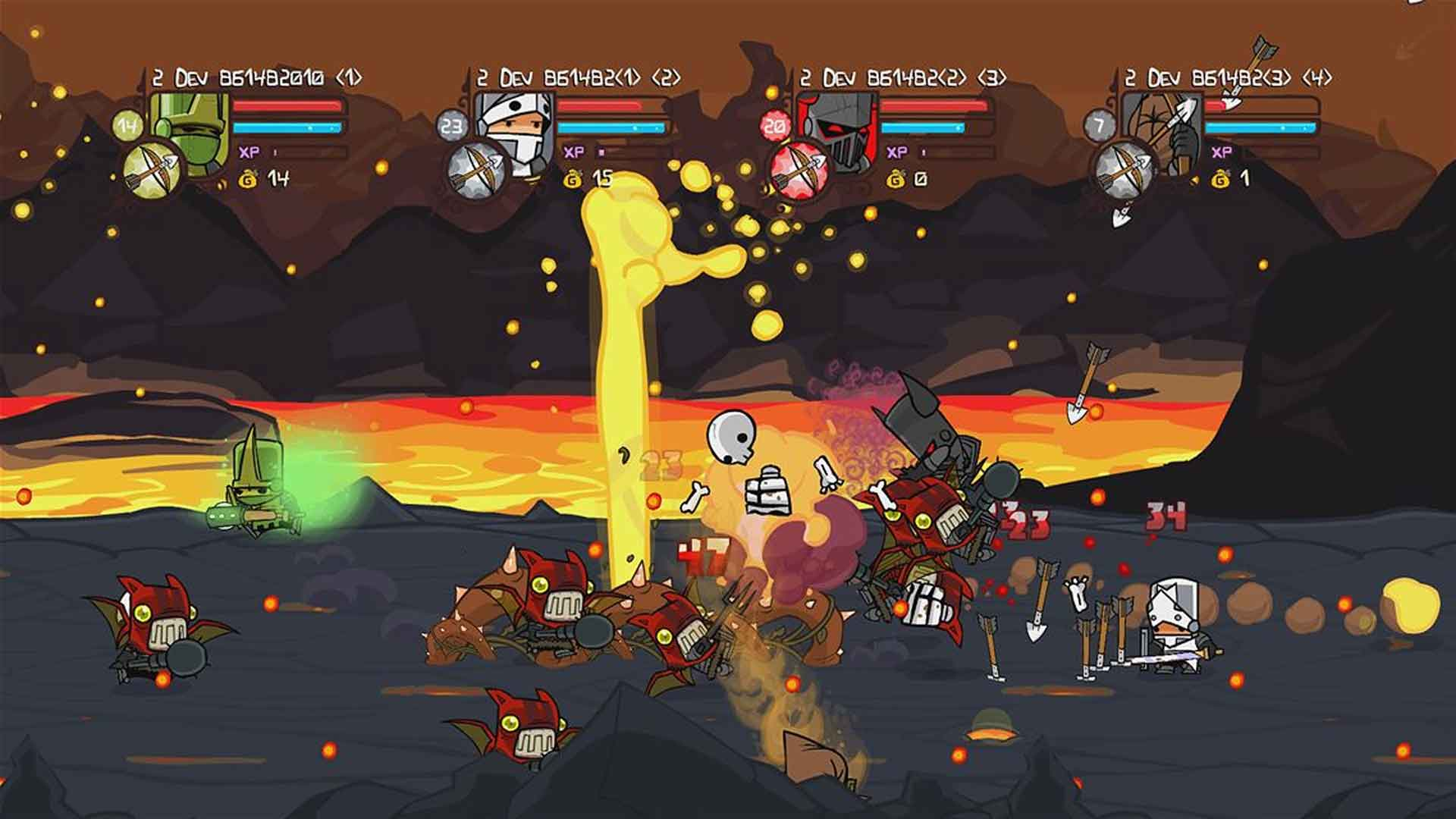 Castle Crashers Remastered Playstation 4 Review Gamerheadquarters