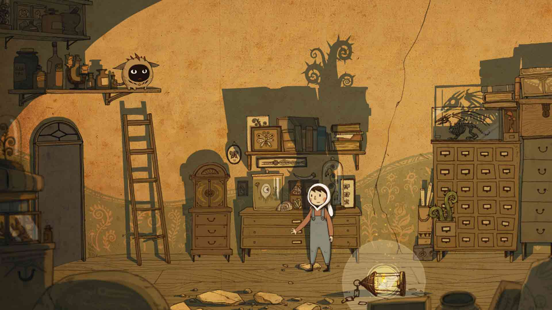 LUNA the Shadow Dust game