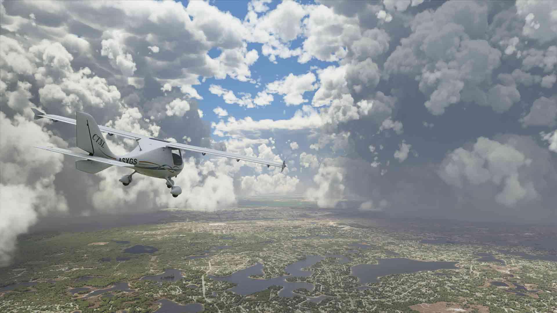 Microsoft Flight Simulator File Size