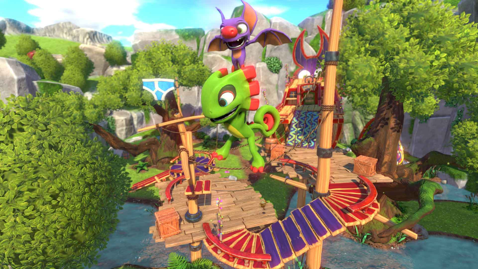 Grant Kirkhope & David Wise Yooka-Laylee Soundtracks Interview