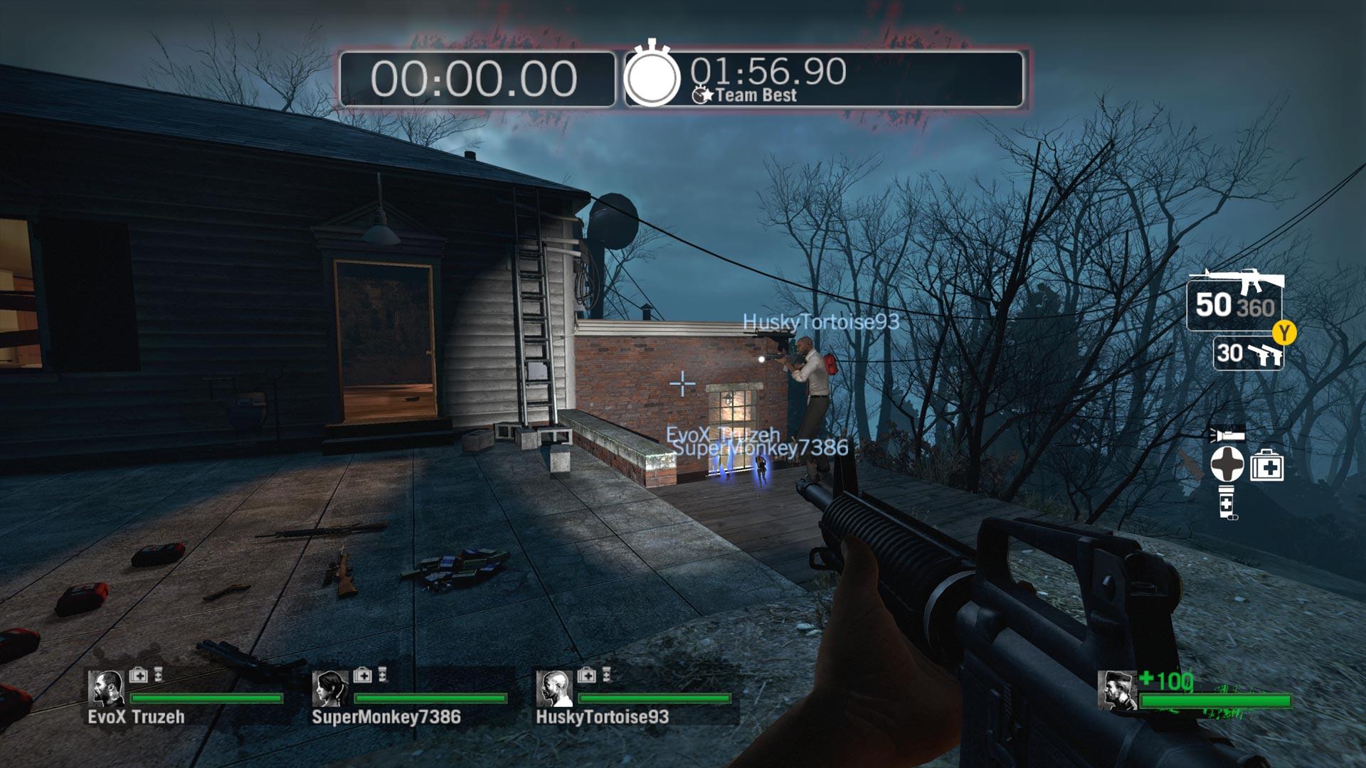 Left 4 Dead 2 Xbox Series X vs Xbox 360