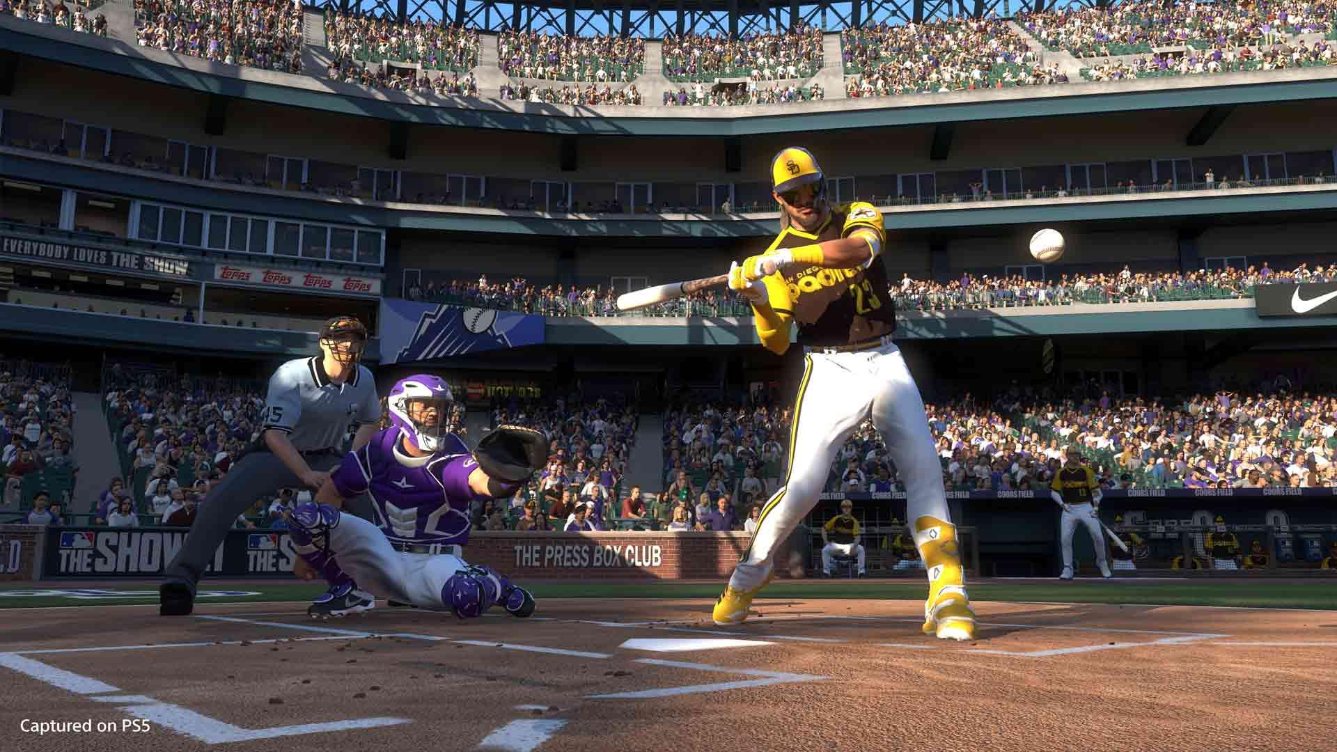MLB The Show 21 Xbox Series X vs Playstation 5