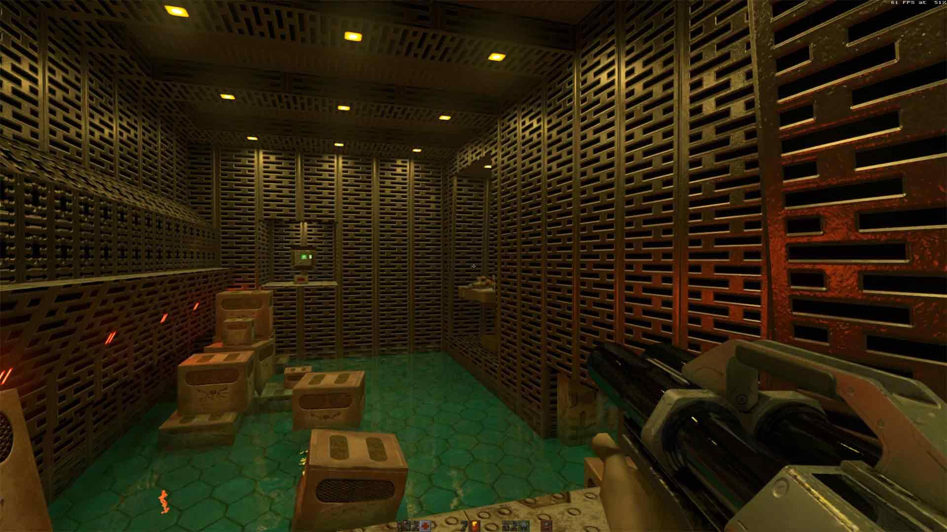 Quake 2 ray tracing