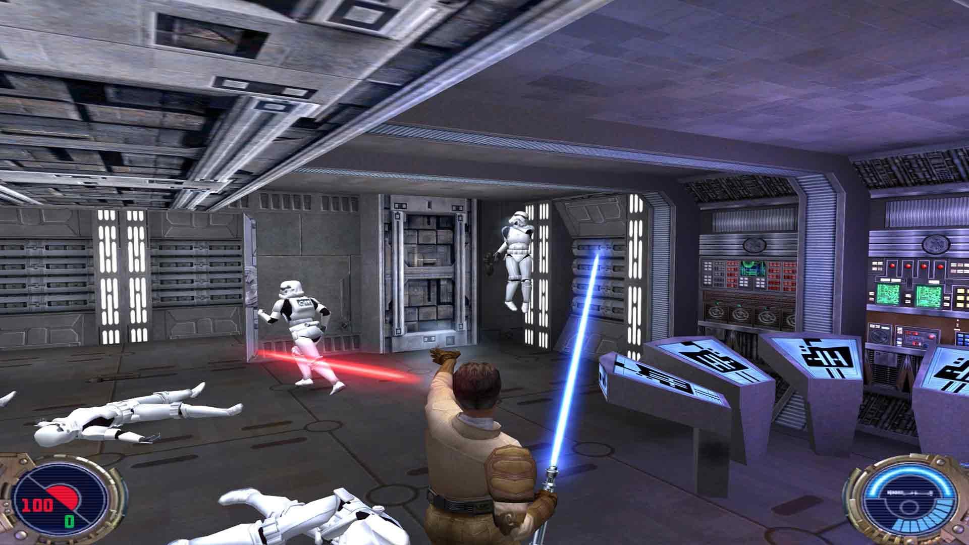 Star Wars Jedi Knight Ii Jedi Outcast Review Gamerheadquarters