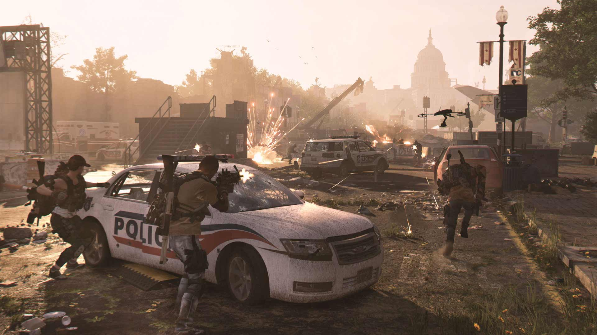 The Division 2 Xbox Series X Screenshot