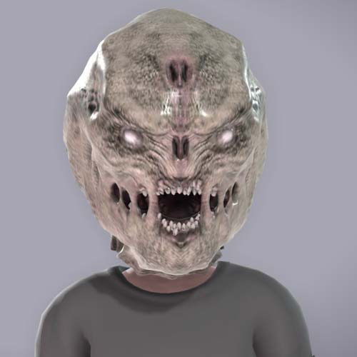 Gears of War Juvie Mask