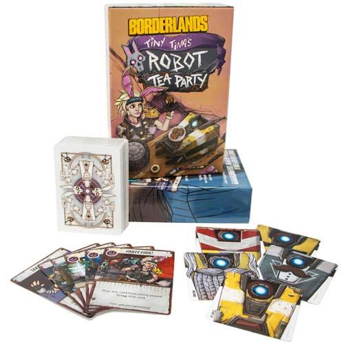 Borderlands Tiny Tina's Robot Tea Party Box Art