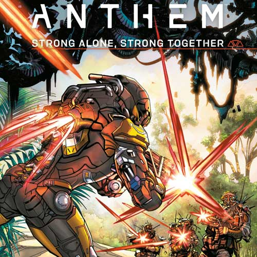 Anthem: Strong Alone, Stronger Together Cover