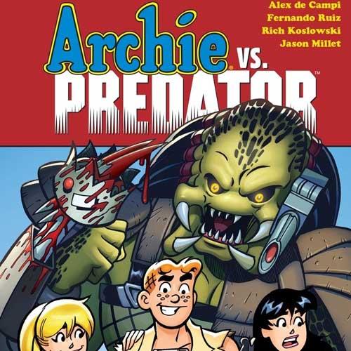 Archie vs. Predator Wallpaper