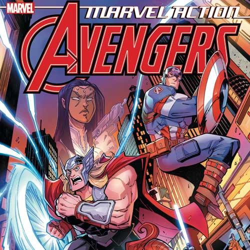 Marvel Action: Avengers The Ruby Egress Wallpaper