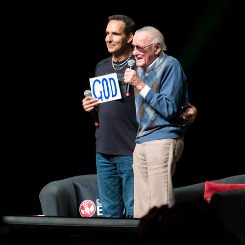 Calgary Expo 2018 Stan Lee and Todd McFarlane