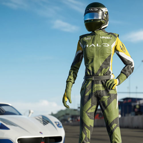 Forza Motorsport 7 Halo Driver Gear
