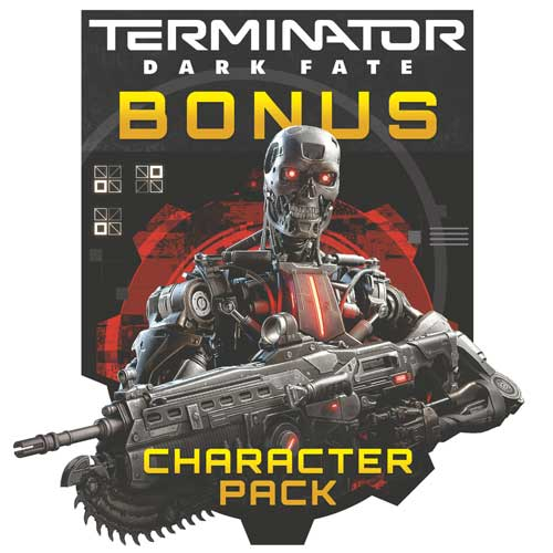 Gears 5: Terminator Dark Fate Character Pack Box Art