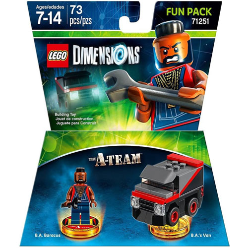 LEGO Dimensions: BA Baracus Fun Pack