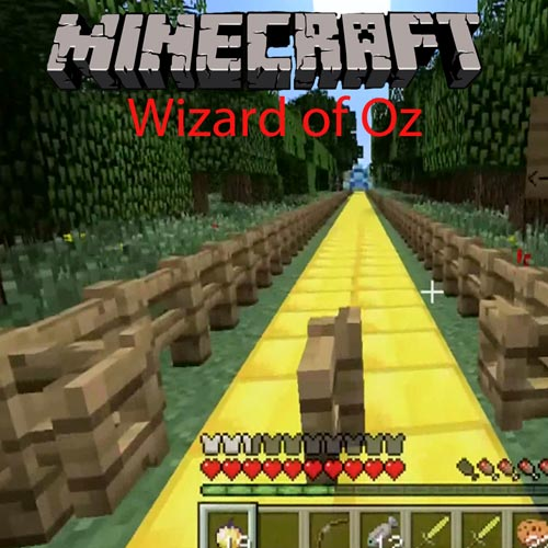 Minecraft Wizard of Oz Hunger Games