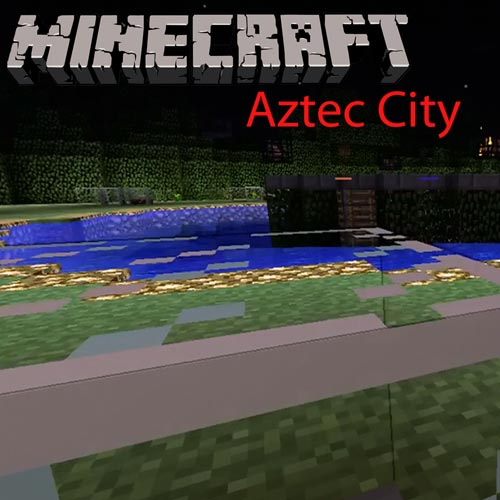 Minecraft Aztec City Hunger Games