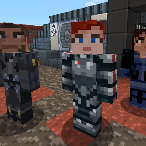 Minecraft Mass Effect Mashup Pack