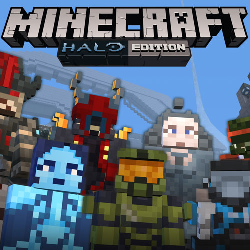 Minecraft Halo Mashup Pack
