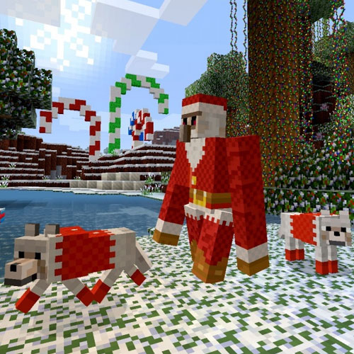 Minecraft Festive Mashup Pack
