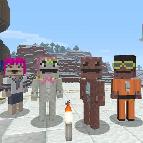 Minecraft Little Big Planet Mashup Pack