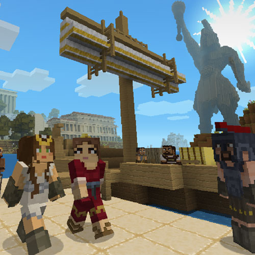 Minecraft Greek Mythology Mashup Pack