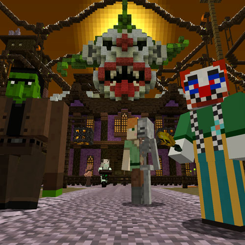 Minecraft Halloween Mashup Pack