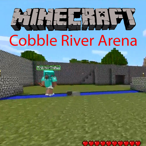 Minecraft Team Deathmatch Cobble River Arena