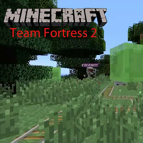 Minecraft Team Fortress 2