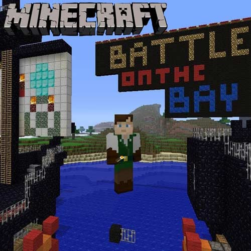 Minecraft Battle on the Bay