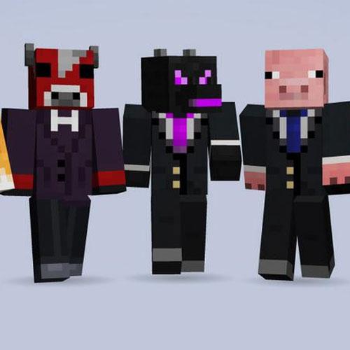 Minecraft Birthday 1, 2013 Skin Pack