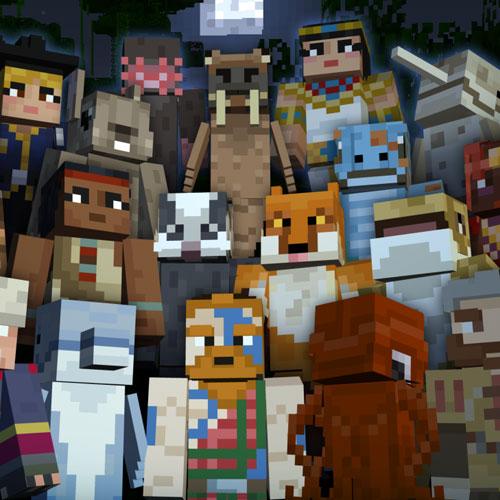 Minecraft Battle & Beasts 2 Skin Pack