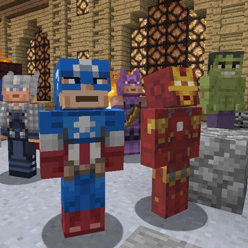 Minecraft Marvel Avengers Skin Pack