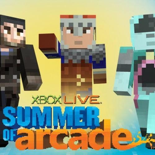 Minecraft Summer of Arcade Skin Pack