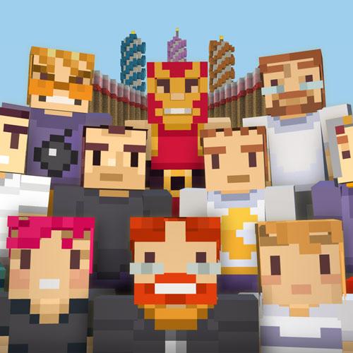 Minecraft Birthday 3, 2015 Skin Pack