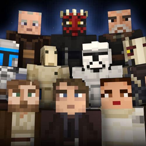 Minecraft Star Wars Prequels Skin Pack