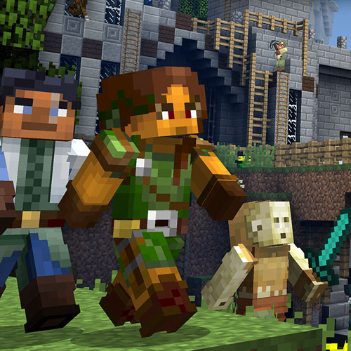 Minecraft Biome Settlers Skin Pack