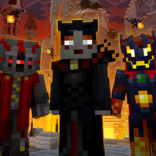 Minecraft Villains Skin Pack