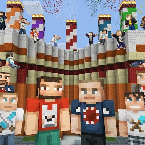 Minecraft Birthday 5, 2017 Skin Pack 1