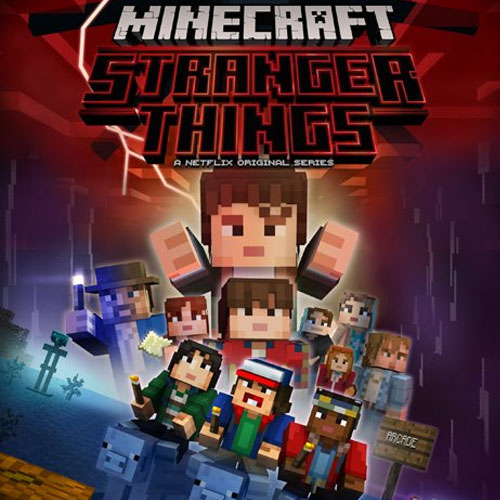 Minecraft Stranger Things Skin Pack