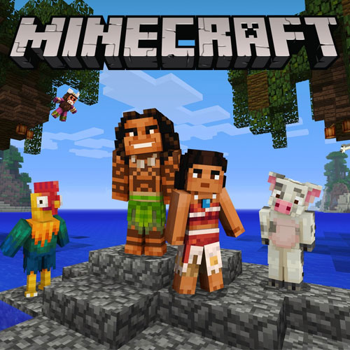 Minecraft Moana Skin Pack
