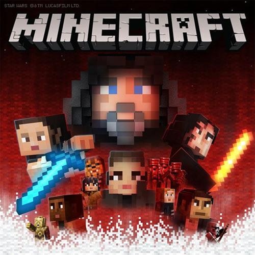 Minecraft Star Wars Sequel Skin Pack