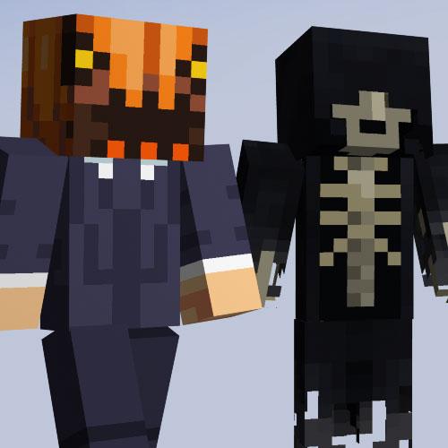 Minecraft Halloween Skin Pack