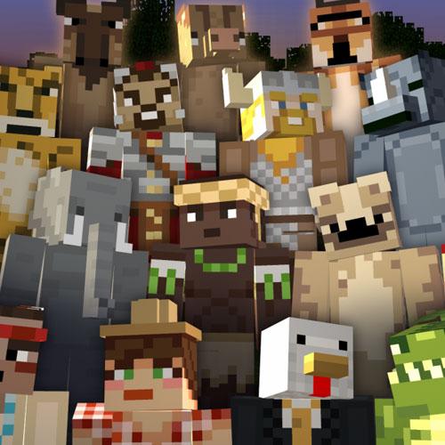 Minecraft Battle & Beasts Skin Pack