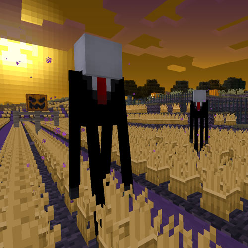 Minecraft Halloween Texture Pack